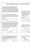 HOW TO DRAW THE LAYOUT OF THE BASIC CURVED SYSTEM- Brochure