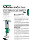 MANNEBECK - Model FaroTek - Electronic Farrowing Sow Feeder Brochure