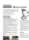 RONDOMAT - Model 3S - Nursery Feeder Brochure