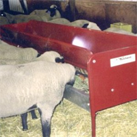 Double-Sided Hay & Grain Feeder
