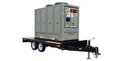 Trane - Model PA-ACCTR-25 - 25 Ton Trailer-Mounted Air Cooled Chiller