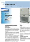 Model UTNV - Air Conditioning and Thermal Ventilation Terminal Units Datasheet