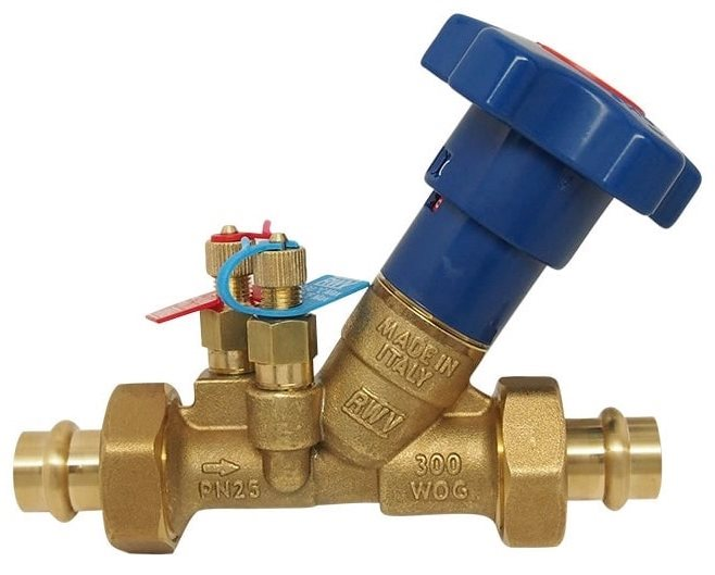 Use of Balancing Valves in Hydronic Systems