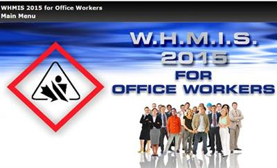 WHMIS 2015 Online Courses for Office Workers
