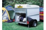 Ifor Williams - Model UNBRAKED BV64e - Trailer