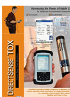 Portable Multi-Gas Detectors - Toxic Gas Test Monitor Brochure