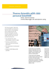 Thermo Scientific - Model pDR 1500 Personal DataRAM - Brochure