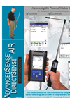 Advancedsense Directsense Air Velocity Meters Brochure