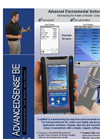 AdvancedSense- Model BE - Environmental Test Meter - Brochure