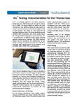 Arc Testing: Instrumentation for the Human Experience - Applications Note