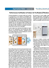 Performance Verification of Indoor Air Purification/Filtration Products - Applications Note