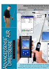 AdvancedSense & DirectSense - Model AIR - Air Velocity Meter - Datasheet