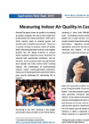 Measuring Indoor Air Quality in Casinos - Applications Note