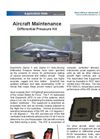 Aircraft Maintenance - Differential Pressure Kit - Applications Note