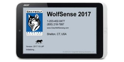 WolfSense - Version LAP - Displaying Measurements & Data Logging Software