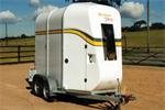 Bateson - Model Derby 44 - Modern Rear Unload Double Horse Trailer