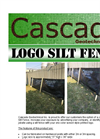 Custom Logo Silt Fence Now Avilable