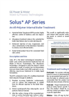 Solus - Model AP - Optisperse Internal Boiler Treatment Chemicals Brochure