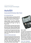 Silt Density Index (SDI) and Sepa Test Equipment Brochure