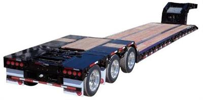 Model 70,000 (35 Ton) - Hydraulic Detachable (RGN) Double Drop Trailer
