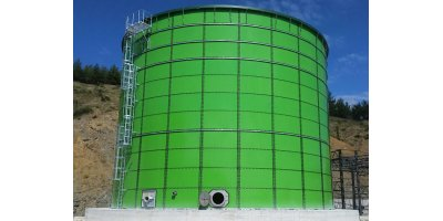 Storage Steel Tanks for Anaerobic Digestion (AD)