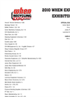 WHEN Recycling Expo - Exhibitors List