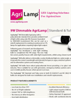 AgriLamp - Model 9W - Dimmable Bulb - Brochure