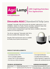 AgriLamp - Model AG65 Tulip - Dimmable Lens - Brochure