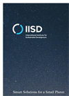 International Institute for Sustainable Development (IISD) Company Profile Brochure