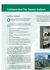 Continuous Real Time Analyzers Service Brochure