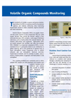 Volatile Organics Compound Monitoring Service Brochure