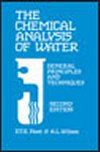 Chemical Analysis Of Water - General Principles & Techniques - Edition 2