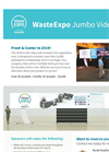 WasteExpo 2019 Jumbo Video Wall Sponsorship