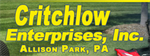 Critchlow Enterprises, Inc.