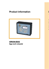ORION-EGG - In / Output Module Brochure