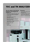 TerraLab - TRL-TOC/IC/TN - Total Carbon and Nitrogen Analyzer (TOC) - Brochure