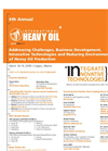 4th Annual International Heavy Oil Brochure