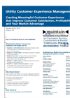 Utility Customer Experience Management Brochure