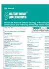 5th Annual Military Energy Alternatives Brochure (PDF 444 KB)