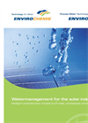 Water Treatment for the Solar Industry Brochure
