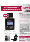MT-PRO+ - Model 05100 - Portable Grain Moisture Tester Brochure