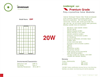 Sundragon i20P Poly-Crystalline Solar Panel Brochure