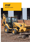 Model 416F - Backhoe Loader Brochure