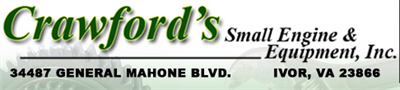 Crawford`s Small Engine & Equipment Inc