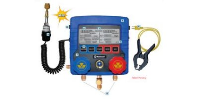 Model HVAC - 2 Ways Digital Manifold Gauge