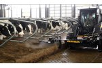 Low Profile Free Stall Bedding Management Attachment
