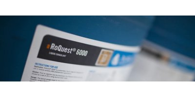 RoQuest - Model 6000 - Liquid Blend of Organic Coagulants and Ferric Sulfate