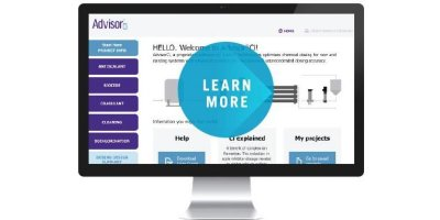 AdvisorCi - Intelligent Chemical Dosing Software