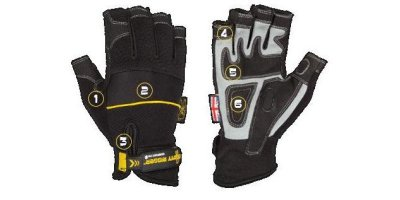 Dirty Rigger - Comfort Fit Safety Rigger Glove  (Fingerless)