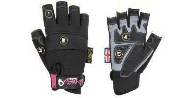 Dirty Rigger - Model XS - Womens Safety Rigger Glove (Fingerless)